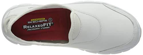 Skechers Sure Track, Zapatillas Mujer, Blanco, 38 EU
