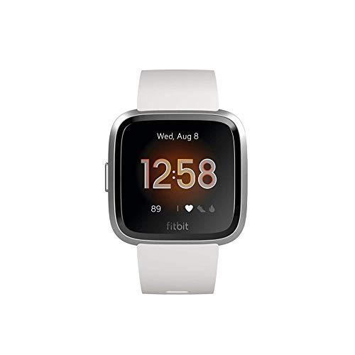 Fitbit Unisex– Erwachsene Versa Lite Smartwatch, Weiß, Einheitsgröße