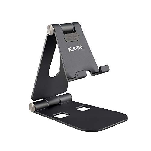 KAKIGO スマホスタンド 第二世代 6色展開 アイフォンスタンド 卓上充電スタンド 角度調整可能 滑り止め iPad iPhone 11PRO 11 6 6S 7 7PLUS 8 X XS XR Samsung Galaxy S10 S9 S8 S7