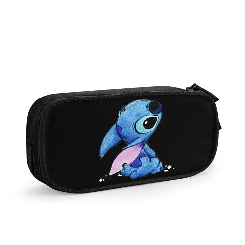 anime Pencil Case Bag Students Teens Pen Bags, Storage Box Oeganizer With Zipper For School Supplies Office Pencils Pouch 4 X 2 X 8.3 Inch