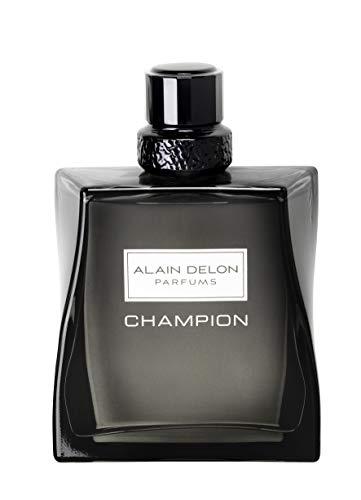 Perfumes para Hombre Alain Delon EAU de Toilette EDT 100 ml Colonia Original duradera Oferta Unica Regalo Especial Reyes Aniversario Cumpleaños Joven Intensa y Fresca (Champion)