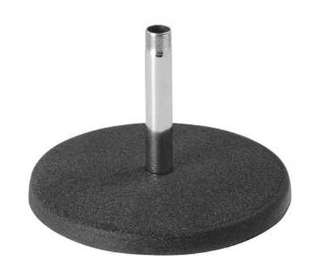 On-Stage DS7100 Desktop Microphone Stand, Chrome