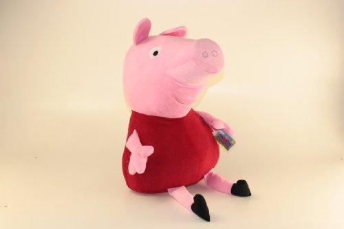 Peppa Pig Peluche Gigante 70cm Enorme Rosso Originale