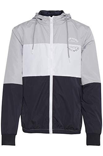 Blend Herren Outerwear Jacke, Grau (Chip Grey 75153), X-Large (Herstellergröße: XL)