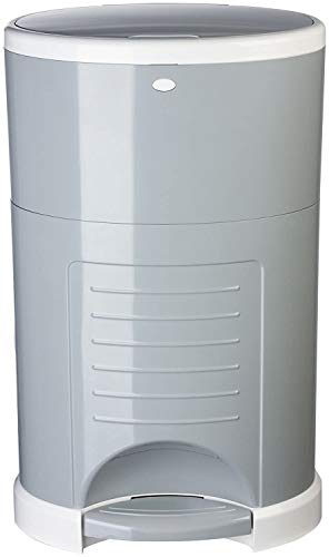 Dekor Plus Hands-Free Diaper Pail | Gray | Easiest to Use | Just Step – Drop...