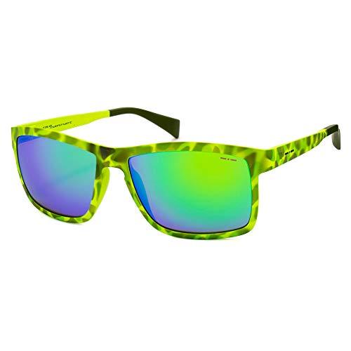 italia independent 0113-037-000 Gafas de sol, Verde, 53 para Hombre