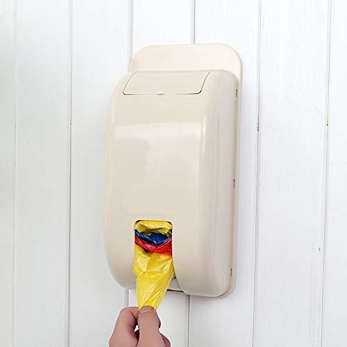 Fesjoy Porta Sacchetti da Parete, Sacchetto di Plastica Contenitori di Stoccaggio