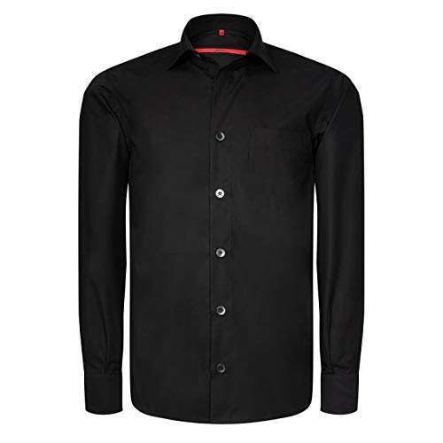 Signum - Langarmhemd - Popeline - Basic Hemd in Classic Fit