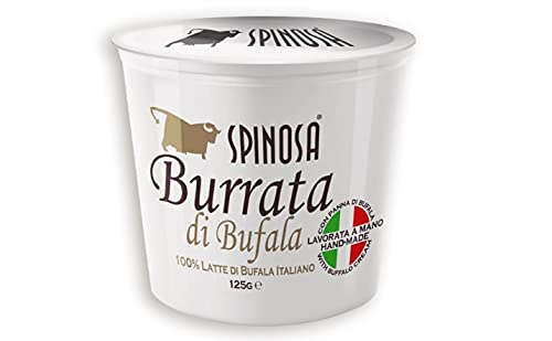 Queso Italiano Spinosa Burrata de búfala. Pack 8 X 125G.