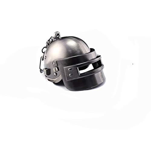 IMIKE Schlüsselanhänger aus Metall, Level 3, Helmmodell, Schlüsselanhänger, Souvenir, Anhänger, Ornamente, Zubehör, Geschenke (Helm)