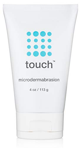 Microdermabrasion Facial Scrub and Face Exfoliator - Exfoliating Face Scrub Polish Cream with Dermatologist Crystals for Anti-Aging, Acne Scars, Dullness, Wrinkles, and Pores - Large 4 Ounce Size