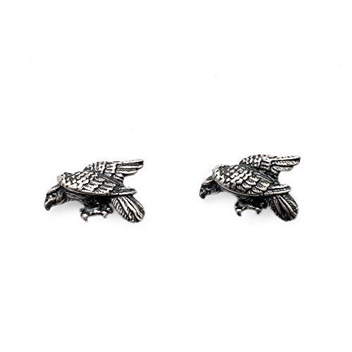S925 plata esterlina tercel cruz pendientes anti alergia nuevo creativo oído Stud moda diseño pendientes joyería para hombres y mujeres estilo punk