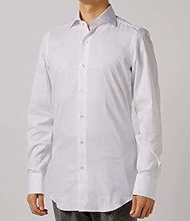Finamore(フィナモレ) シャツ メンズ MILANO ワイドカラードレスシャツ ZANTE-840628 [並行輸入品]