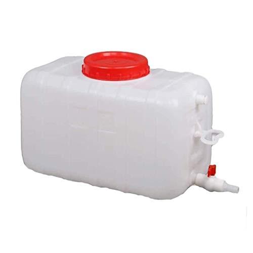 GBYYMX Contenitore dell'Acqua Bollitore carro cisterna 50L / 100L / 150L Massa plastica Secchio Coperchio della Vasca Rettangolare Orizzontale rubinetteria Verde Contenitori d'Acqua da Campeggio