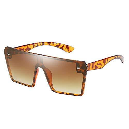 SUccess Oversize Sonnenbrille für Damen und Herren, Frauen UV Schutz Brille, Polarisiert Vintage Retro Sunglasses Männer, Travel Outdoor Strand Eyewear Sonnenbrillen