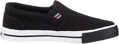 Romika Laser, Unisex-Erwachsene Slip On Sneaker, Schwarz (Schwarz 100), 37 EU