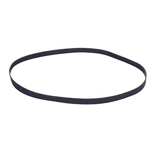 Labuduo Transmisión por Correa, Tocadiscos Profesional, Hermosa Elasticidad práctica para Tocadiscos(1L10 Circumference 200mm)