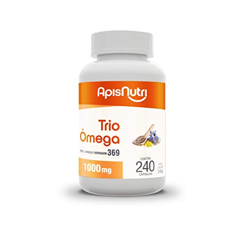 Trio Omega 3, 6, 9 240 Caps, Apisnutri