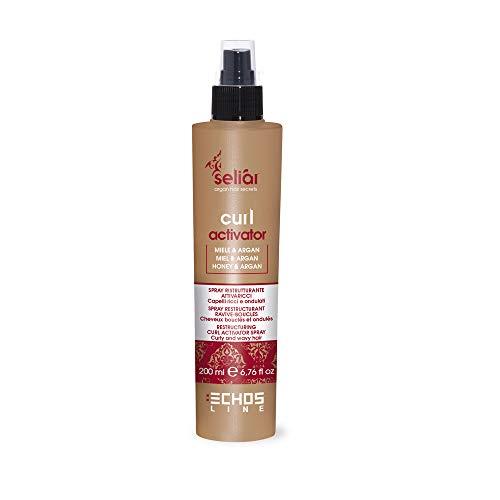 Curl Activator Seliar  Restructuring Spray Curly and Wavy Hair - Ristrutturante Attivaricci Capelli Ricci e Ondulati