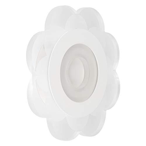 JYLSYMJa Plafoniere per corridoi, lampade da Parete a LED con Design a Forma di Fiore in Alluminio, luci soffuse e Non abbaglianti, 20x20x3,7 cm