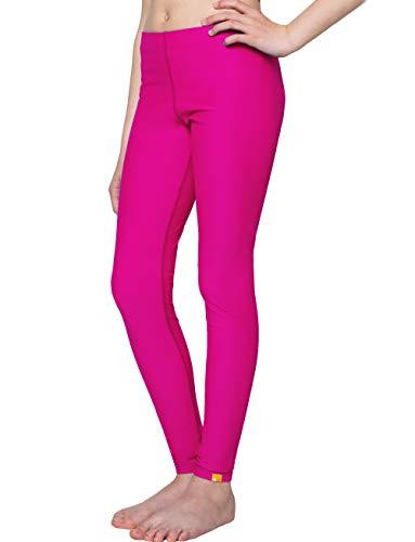 iQ-UV Kinder 300 Leggings, UV-Schutz Schwimmhosen, Pink, 164/170