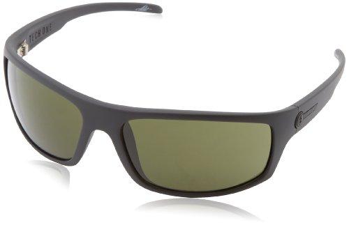 Electric Tech One Wrap Sunglasses, Matte Black, 164 mm