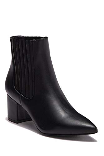 Steve Madden Womens Bound Pointed Toe Ankle Chelsea Boots, Black, Size 7.5