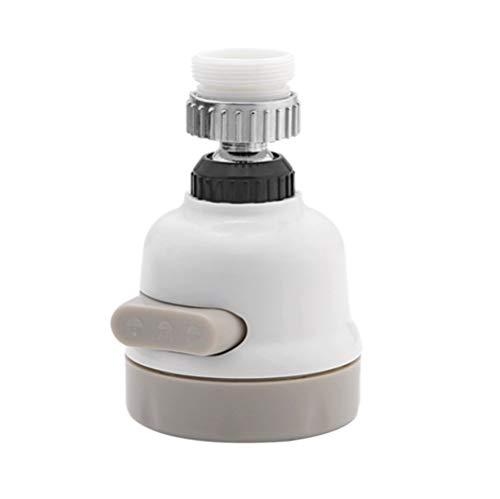 Atomizador grifo Keuken Tap Hoofd Beweegbare wastafel Kraan Draaibare Abs Spuit Anti-Splash verstelbare filtro de boquilla 3 Modi Waterbesparing Beluchter cocina (Kleur : 1 pack)