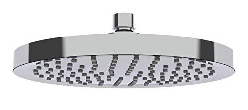 Regenduschkopf Watersaving Ø 20 cm, Universal-Kopfbrause mit Wasserspar-System