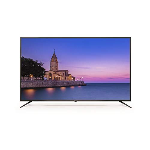 Television Smart TV 58 Pulgadas 4K, Android 9.0 y Hbbtv, UHD HDR10, 1500 PCI Hz, 3X HDMI, 2X USB, DVB-T2/C/S2, Modo Hotel - Televisores TD Systems K58DLJ10US. TDsystems