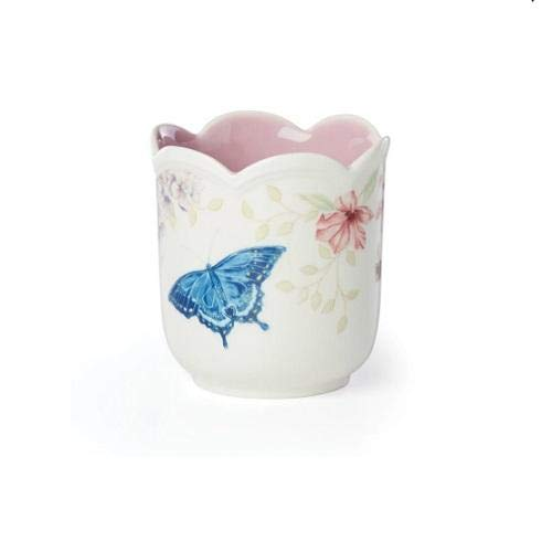 Lenox Butterfly Meadow Lilac Linen Candle, 1.20 LB, Multi