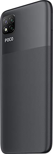 (Renewed) Poco C3 (Matte Black, 4 GB RAM /64 GB Storage)