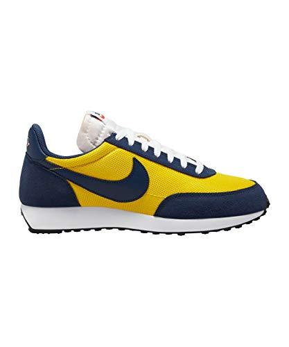 Nike Mens AIR Tailwind 79 Running Shoe, Speed Yellow/Midnight Navy-White, 44 EU