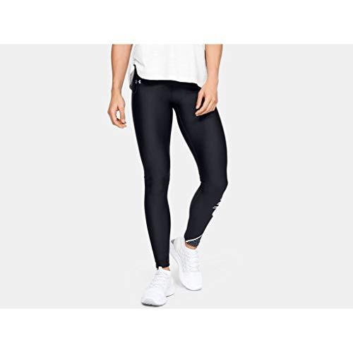 Under Armour Femme UA Hg Armour Graphic Swerve Wm Legging, Pantalon de Sport Léger et Élastique, Legging Confortable à Technologie Anti-Odeur