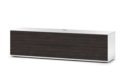 Sonorous STD 160F-WHT-AMZ-BW Studio TV-Lowboard für 177,8 cm (70 Zoll) Fernseher weiß