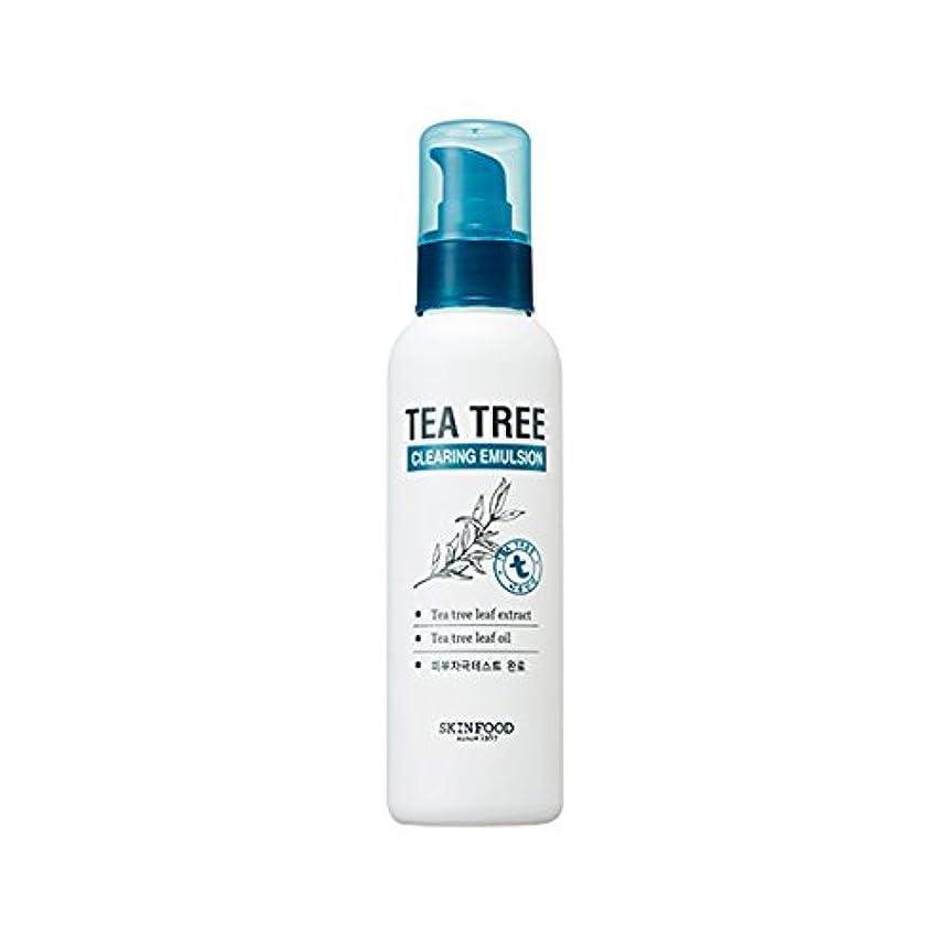 儀式ズームインする引き潮SKINFOOD Tea Tree Clearing Emulsion 135ml/スキンフード ティーツリー クリアリング エマルジョン 135ml [並行輸入品]