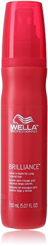 Price comparison product image Wella Brilliance Leave In Balm for Long Colored Hair for Unisex,  5.07 Ounce