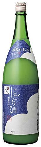ほまれ酒造 會津ほまれ 四段仕込み にごり酒 [ 日本酒 福島県 1800ml ]