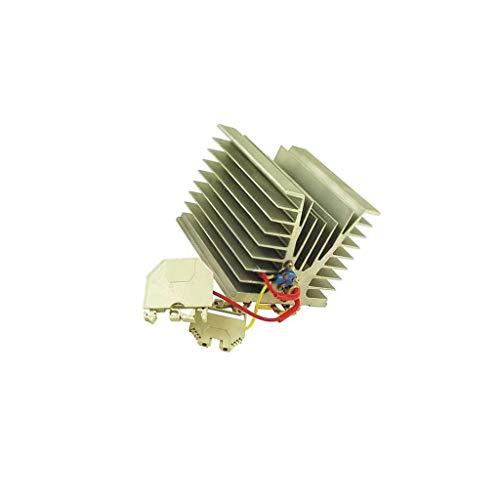 56.123 Radiator heater 100W 85°C 230V DIN EN50022 35mm 62x95x100mm SELFA