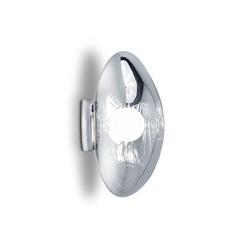 Tom Dixon Melt Surface Wandlampe/Deckenleuchte (Chrom)