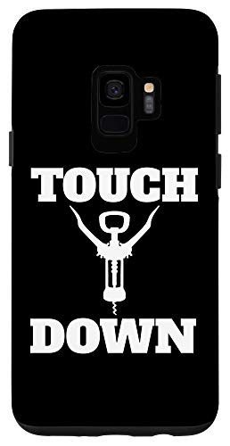 Galaxy S9 Touchdown Wine Bottle Opener Funny Football Gift Case