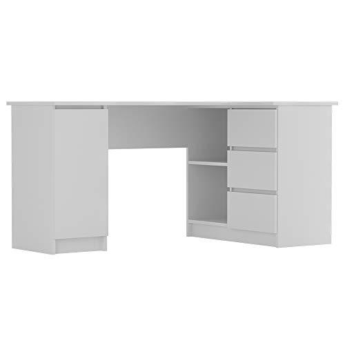Selsey Bureaux, Blanc, 77 x 155 x 85