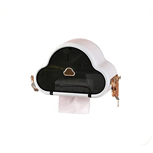 YUZZZKUNHCZ Scatola per fazzoletti, 1 scatola per fazzoletti usa e getta, supporto rettangolare per riporre armadi da bagno, controsoffitti, comò, comodini, tavoli (colore: bianco)