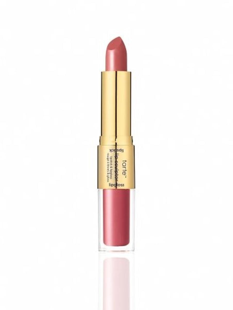 取り扱い司法傾くtarte the lip sculptor lipstick & lipgloss (Treat (Dusty Rose))
