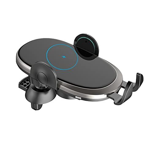 Cargador inalámbrico de coche C6, adecuado para la carga táctil inalámbrica del teléfono móvil, soporte de carga inalámbrica, 15W carga rápida estupenda