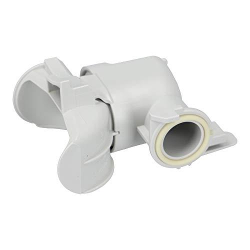 DL-pro Rückschlagventil passend für Miele 5750093 5750092 5750091 Ventil für Pumpentopf Sammeltopf für Modelle G11. G12. G13. G14. Geschirrspüler Spülmaschine