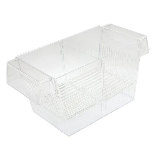 sourcingmap Plastique Aquarium Poisson Spawn Écloserie Breeder Coque/Box