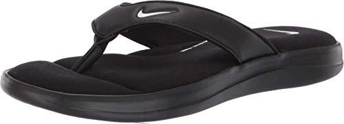 Nike Tanga Ultra Comfort 3 para mujer AR4498 001, negro (Negro/Blanco), 35.5 EU