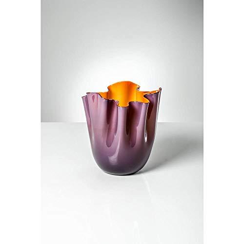Venini Vase Taschentücher aus Muranoglas 700.02 in/AR
