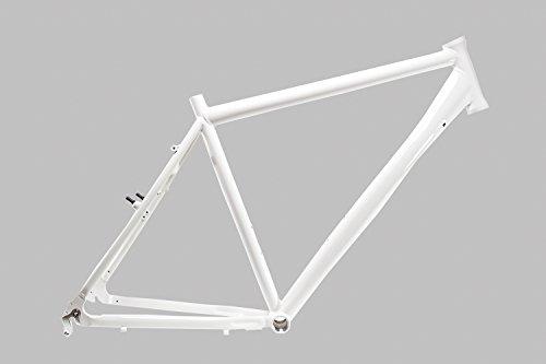 "28\"" Zoll Alu Fahrrad Rahmen MIFA Herren Trekking Bike frame Rh 55cm weiss glanz"